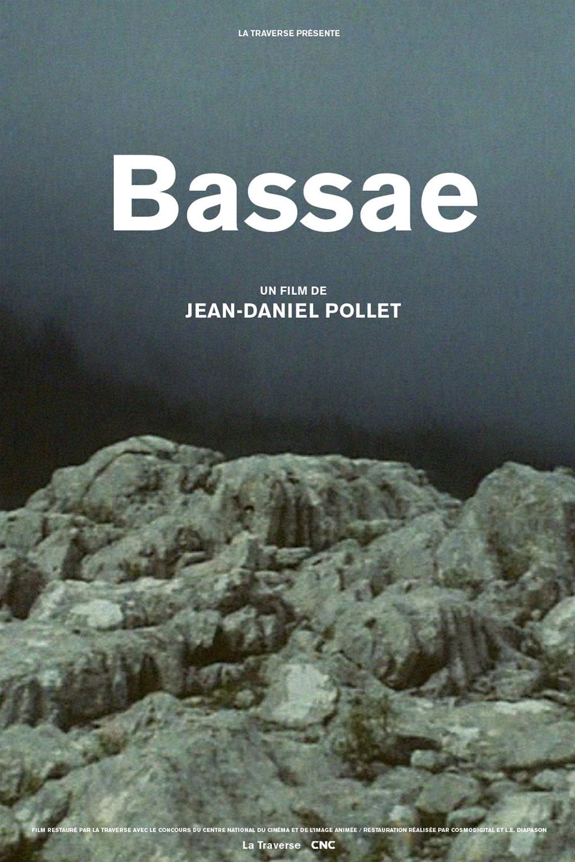 Affiche « Bassae » de Jean-Daniel Pollet.