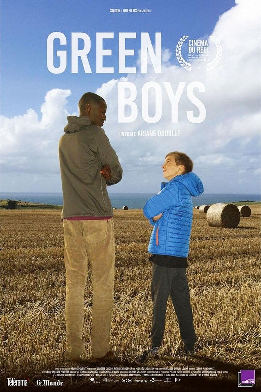 Affiche « Green Boys » d'Ariane Doublet.