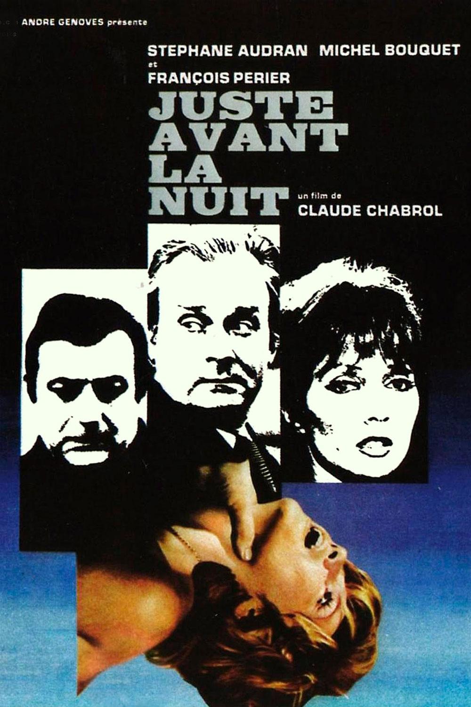 Affiche « Juste avant la nuit » de Claude Chabrol.