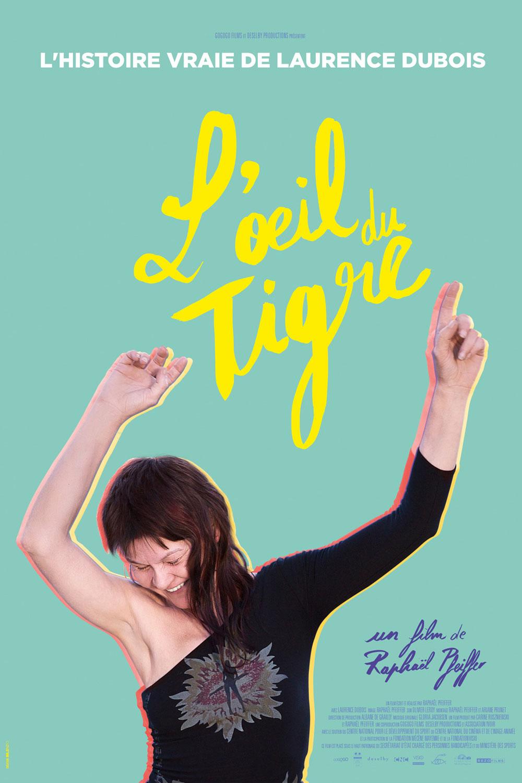 Affiche « L'œil du tigre » de Raphaël Pfeiffer.