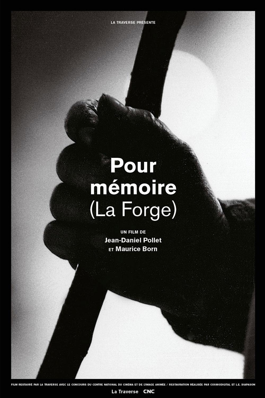 Affiche « La Forge » de Jean-Daniel Pollet.