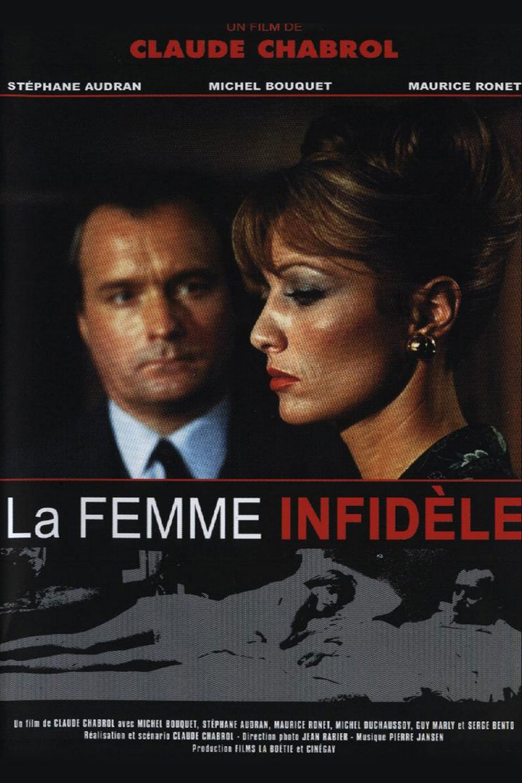 Affiche « La femme Infidèle » de Claude Chabrol.