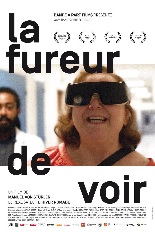 Affiche « La fureur de voir » de Manuel Von Stürler.