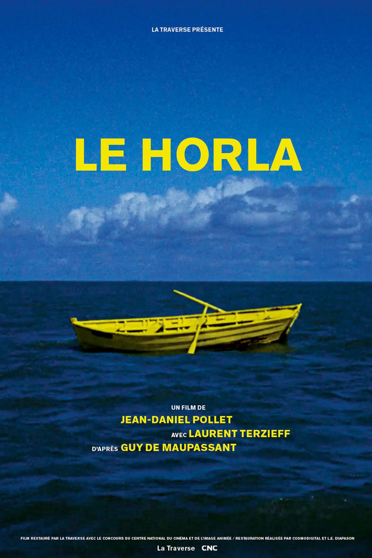 Affiche « Le Horla » de Jean-Daniel Pollet.