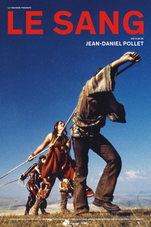Affiche « Le Sang » de Jean-Daniel Pollet.