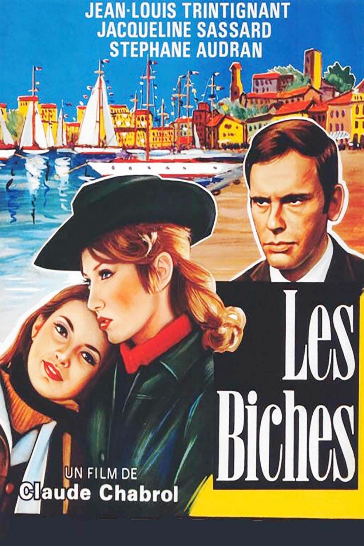 Affiche « Les Biches » de Claude Chabrol.